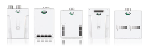 AO Smith tankless water heaters ready for installation
